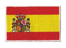 Ecusson brodé patche patch Espagne Espana thermocollant 85 sur 55 mm