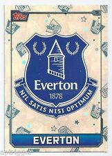 2015 / 2016 EPL Match Attax Base Card (91) EVERTON Logo Card