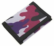 Wallet Trifold Canvas Outdoor Sports Wallet Slim Card Holder Wallet Camouflage