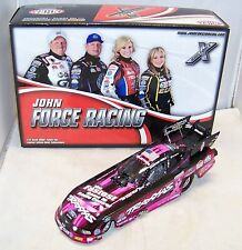 1:24 2013 ACTION NHRA FUNNY CAR TRAXXAS PINK COLOR CHROME COURTNEY FORCE 1/246