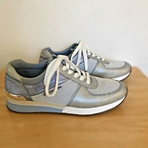 Michael Kors  Athletic Trainers Shoes Size 9 M Women's Blue Gently Worn HJ18E