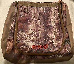 RedHead Small Brown Camo Pouch/Accesory Bag - Hunting~Completely Waterproof