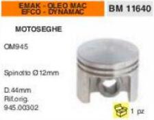 945.00302 PISTONE MOTOSEGA EMAK EFCO DYNAMAC OLEO MAC 945 Ø 44mm SPIN 12