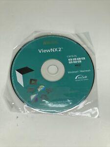New Nikon ViewNX 2 CD CW16-DL 7 languages 2007-2011 OEM Software