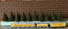N Scale MODEL RAILROAD PINE TREES // 10 - 2 Inch Tall Trees /// FREE SHIPPING