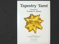 Tapestry Tarot Cards by Yvonne G. Jensen OOP Rare 1995