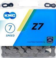 "KMC Z7/Z50 5/6/7-Speed Bicycle Chain 116L 1/2"" x 3/32"" Road MTB Cruiser 18/21"