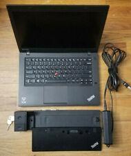 Lenovo ThinkPad T440192GB SSD i5 Windows 10 32Bit 4GB 1.90GHz Laptop Webcam