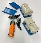 vintage g1 transformers micromasters tanker truck with pipeline, gusher complete