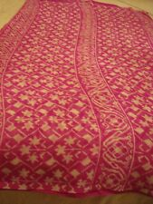 LADIES / GIRLS POLYESTER CHIFFON SAREE - 'RANI' COLOUR