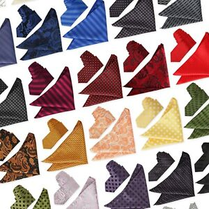 Tie Co Premium Slim 6cm Neck Tie & Pocket Square Hanky Matching Wedding Set 2pc