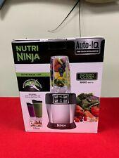 Ninja Nutri Ninja Personal Blender with 1000 Watt Auto-IQ Base BL-480D New