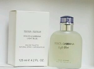 Light Blue Dolce  & Gabbana 4.2.Fl.Oz125Ml Eau De Toilette Spray As In Pic