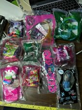 McDonald's Happy Meal Toy Lot of 10 (Madagascar 2, Wizard of OZ, Helly Kitty...)