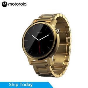 Motorola Moto 360 (2nd Gen.) Smart Watches - Mens 42mm, Gold with Gold Metal
