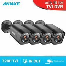 ANNKE 4x 2000TVL Home CCTV Security Bullet 720P TVI Camera Outdoor Night Vision