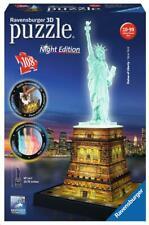 PUZZLE  3D ESTATUA DE LA LIBERTAD 3D NIGHT EDITION 108 PIEZAS RAVENSBURGER