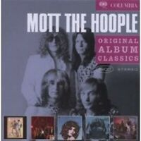 "MOTT THE HOOPLE ""ORIGINAL ALBUM CLASSICS"" 5 CD BOX NEW+"