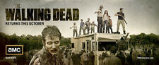 AMC Walking Dead Card Mini Poster Robert Kirkman Promo San Diego Comic Con SDCC