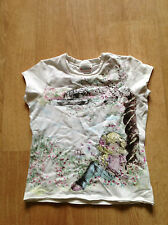 Next Girls' Graphic Scoop Neck T-Shirts & Tops (2-16 Years)