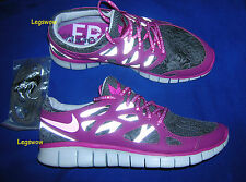 Nike Free Run 2 DB Running Shoes Sneakers Womens 5 Purple Grey Doernbecher Light