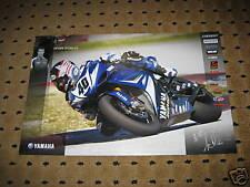 Jason Disalvo #40 Yamaha 2008 Poster R1 R6 Dunlop