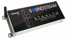 SOUNDSTREAM ST4.1000DB 1000 W BLUETOOTH CAR MOTORCYCLE 4 CHANNEL AMPLIFIER AMP