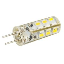 10pcs G4 Home 3014SMD LED light lamp Warm White Silicone Crystal Slim 12V1.5W