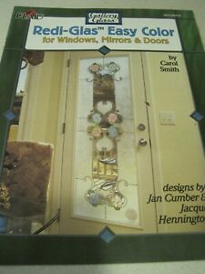 PLAID GALLERY GLASS REDI-GLAS EASY COLOR Booklet Hennington / Cumber 11 pg 2002