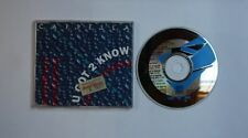 Cappella U Got 2 Know GER CDSingle 1993