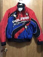Polaris Racing Full Zip Snowmobile Jacket Coat Sz Xs Color