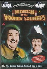 March of the Wooden Soldiers DVD 1934 COLORIZED Laurel & Hardy Babes M31