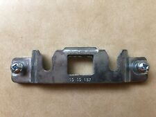 BARGMAN L-300 Striker Plate w/new bolts Part # 10 30 187 (New Old Stock)