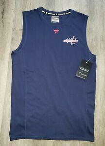 Fanatics NHL Washington Capitals Base Layer Compression Sleeveless Shirt.