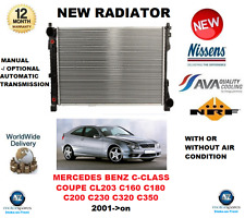 FOR MERCEDES BENZ C CLASS COUPE C160 C180 C200 C230 C320 C350 2001-> RADIATOR