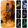 Dessana Fumo Arte Silicone Case Custodia Protettiva Cellulare Cover per Motorola