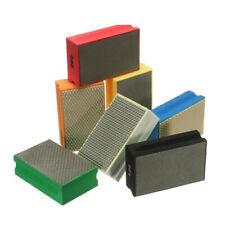 60-3000 Grit Diamond Polishing Bloc à main pour e Marbre Glass Stone.