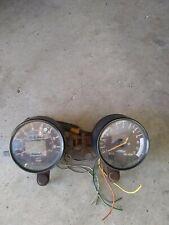 Vintage1980 KZ 750 E Kawasaki motorcycle gauge set