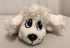 "Mattel 2004 White Poodle 6"" Pound Puppies"