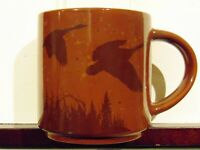 New Tim Hortons Ceramic Brown Mug Canadian Geese Limited Edition No.017