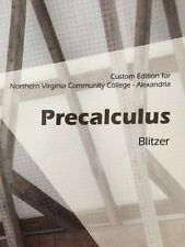 Precalculus Custom Edition for Northern Virginia Community College - Alexandria