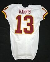 #13 Maurice Harris of Washington Redskins NFL Locker Room Game Issued Jersey