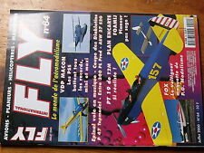 $$v Revue Fly International N°64 Plan encarte Foamij  PT 19  P 47  Extra 300 PL