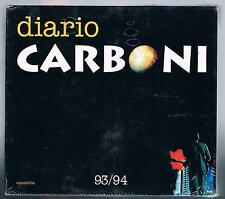 LUCA CARBONI DIARIO CARBONI DOPPIA MC K7 MUSICASSETTA + DIARIO SIGILLATA!!!