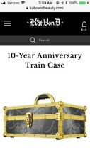 Kat Von D 10 Year Anniversary Train Case Makeup Kvd Sold Out *In Hand*