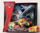 Disney Pixar Cars Spy Jet Getaway Vehicle playset Action Agents AIRPLANE NEW HTF
