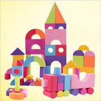 50X EVA Children Building Brick Block Foam Construction Soft  IY
