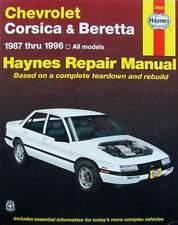 LIVRE/BOOK : manuel de réparation Chevrolet Corsica & Beretta (repair manual)