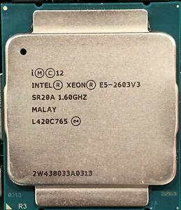 Intel CM8064401844200 SR20A Xeon Processor E5-2603 v3 15M Cache, 1.60 GHz TESTED