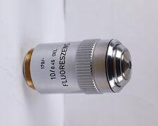 Leitz 10x /0.45 Oel FLUORESZENZ 170 TL Oil Microscope Objective